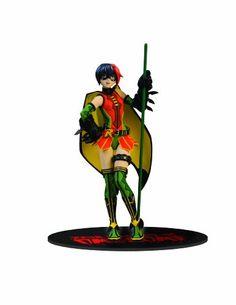 DC Direct Ame-Comi Heroine Series: Robin PVC Figure