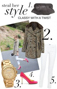 Steal Her Style: Classy With A Twist   www.theglitterguide.com