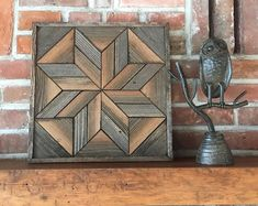 Excited to share this item from my shop: Reclaimed wood wall art - Lone Star Twist - Sustainable Art - Modern rustic Reclaimed Wood Wall Art, Old Barn Wood, Wooden Wall Decor, Wood Art, Salvaged Wood, Barn Wood Projects, Rustic Furniture, Modern Furniture, Pipe Furniture