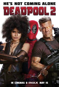 Josh Brolin Deadpool 2 Movie Poster - Ryan Reynolds 24x36 IMAX v7 Cable