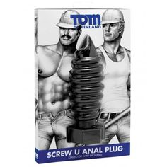 Tom of Finland Screw U Anal Plug (T5727) Tom Of Finland, Collector Cards, Dildo, West Hollywood, Plugs, Toms, Batman, Superhero, Fictional Characters
