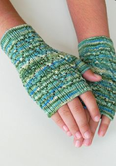 Backwood Mitts by No Knit Sherlock!, via Flickr