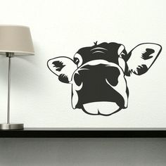 Cow Animal Self Adhesive Wall Stickers / Wall by WallStickersExtra, £19.99