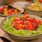 チーズとろ〜りお野菜たっぷり、簡単タコライスのつくり方