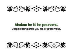 Maori Proverbs: Ahakoa he iti he pounamu. Despite being small you are of great value. Early Childhood Centre, Early Childhood Education, Maori Words, Maori Symbols, Proverbs Quotes, Maori Art, How To Make Light, Art For Kids, Kids Fun
