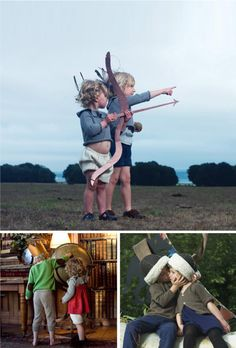 Love the bow and arrow (images from Waddler)