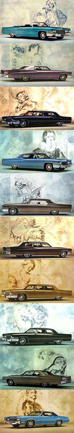 1969 Cadillac / Calais / De Ville / Series 60S / Series 75 / Eldorado / USA