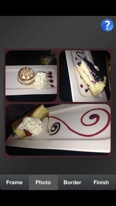 When u get fancy desserts at restaurants