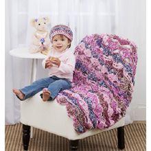 Sweet Scallops Blanket