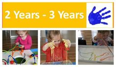 Over 60 Activities and Play Ideas for 2 Year - 3 Years.  List is conintually being updated!  {learning4kids.net}