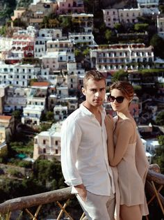 Shailene Woodley & Theo James   InStyle   Divergent Co-stars