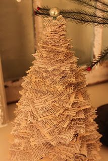 Anthropology inspired paper tree tutorial