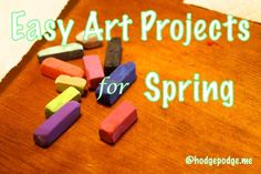 Free Spring Art Lessons at Hodgepodge www.hodgepodge.me