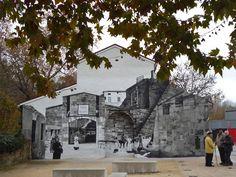 Adoquines y Losetas.: Mural.Rotxapea