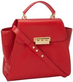 Love the color!  Zac Posen bag.