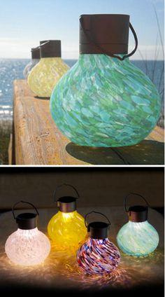 Outdoor Solar Lanterns ♥