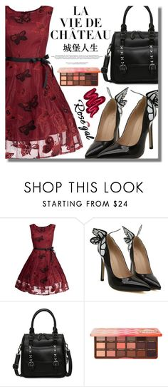 """""""Rosegal 82"""" by fattie-zara ❤ liked on Polyvore featuring Too Faced Cosmetics and Obsessive Compulsive Cosmetics"""