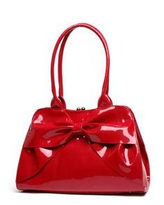 Lady Lux Kiss Lock In Red