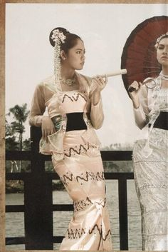 Myanmar Dress styles in colonial Era