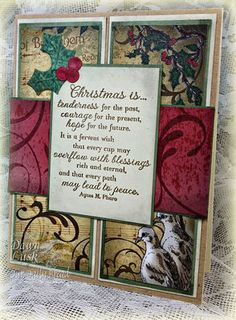 Stamps - Our Daily Bread Designs, His Gift, Christmas Paper Collection 2013, ODBD Custom Circle Ornaments Die