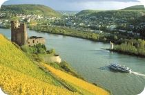 My best times in Germany were exploring the Rhine and the Mosel wine countries.