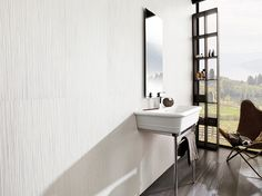 """Wall: Irish Blanco porcelanosa-usa.com  Product Code:  V23000011 Price Group:  G-V331 Tile Thickness:  1/2"""" Recommended Joint Width:  1/16"""" View similar products:  View Wall Tile  Recommended Grout: Colorstuk Blanco"""