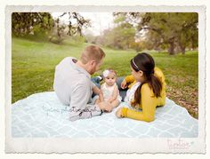 Love this perspective for a brand new little family photo session