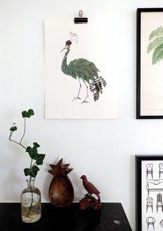 Birds by Emma von Brömssen