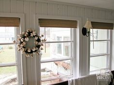 Faux Bamboo Budget Window Treatment by Prodigal Pieces | www.prodigalpieces.com