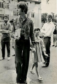 Paul McCartney and Ruth McCartney (Paul's stepsister)