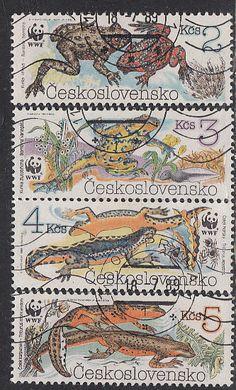 Czechoslovakia #2748-2751 Used - bidStart (item 44770468 in Stamps, Europe... Czechoslovakia)