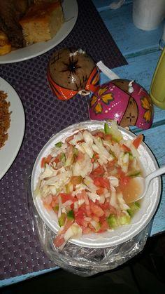 Conch salad.