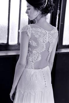 Robe Emma- Stéphanie wolff Paris crédit photo Julie Coustarot #stephaniewolffparis #collectionsignature #robedemariéebohemechic