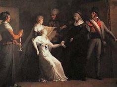 Marie Antoinette told Louis XVI is dead.