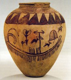 Naqada II pot with boat scene The Naqada culture is an archaeological culture of Chalcolithic Predynastic Egypt (ca. 4400–3000 BC), named for the town of Naqada, Qena Governorate.