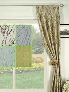 Halo Trendy Embroidered Plants Triple Pinch Pleat Dupioni Silk Curtains   Custom  Curtains Drapes Draperies Sheers