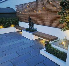 Corten Laser Cut Garten Screen of Tangles - 2019 . Backyard Seating, Small Backyard Landscaping, Backyard Garden Design, Rooftop Garden, Diy Garden Decor, Patio Design, Backyard Patio, Modern Garden Design, Landscape Design