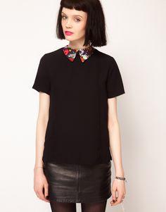Sister Jane Floral Collar Blouse. Super cute blouse