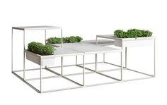Kenneth Cobonpue   Kaja modular coffee tables - planters