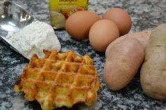 Waffle de batata, ensinado em nosso curso pratico e intensivo