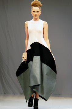 Amanda Grogan 2010 Independent designer who won the Mittelmoda fashion award.