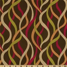 Richloom Bodacious Jacquard Chocolate from @fabricdotcom  This medium weight jacquard fabric is perfect for window treatments (draperies, curtains, valances), accent pillows, duvet covers, slipcovers and upholstery. Colors include fuchsia, citrine, rust, tan and brown.