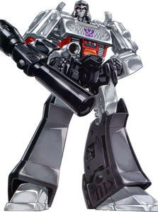 Megatron... the original, not the Michael Bay robot-vomit version. No clue how I would pull off a respectable robot costume, let alone the ability to turn into a Walther P38.