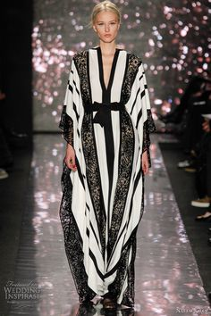 naeem khan fall 2012 kaftan