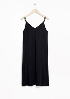 & Other Stories | V-neck Slip Dress