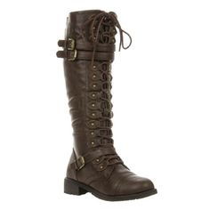 Wild Diva Women's Fashion Timberly-65 Military Knee High Combat Boots Shoes Brown Wet Pu 8.5 Fourever Funky http://smile.amazon.com/dp/B00IPUFANY/ref=cm_sw_r_pi_dp_tZ7Awb1TR89RT