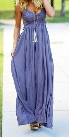 Midnight Lace Maxi Dress with Open Back The Mint Julep Boutique Pinterest: @shopthemint www.shopthemint.com/
