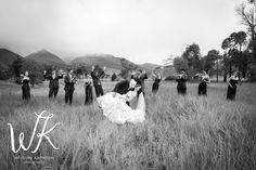Fun Bridal Party shot!