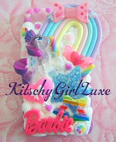 Iphone 5 Whipped Decoden Kawaii Phone Case by KitschyGirlLuxe, $25.00