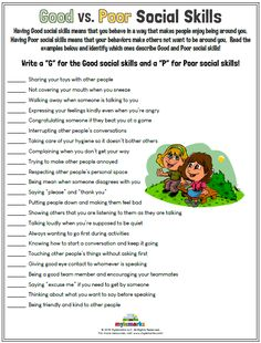 Therapeutic worksheets focused on helping kids and teens learn social skills. Tools assist kids in learning social cues, conversation skills, effective communication, and conflict resolution. Social Skills Lessons, Social Skills For Kids, Social Skills Activities, Teaching Social Skills, Counseling Activities, Social Emotional Learning, Coping Skills, Therapy Activities, Life Skills
